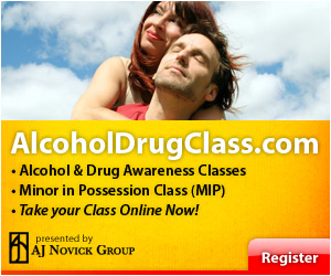 Signup for Alcohol and Drug Class