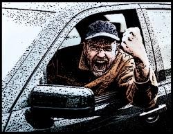 road raging bully