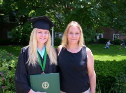 My Mom and Me at my College Graduation