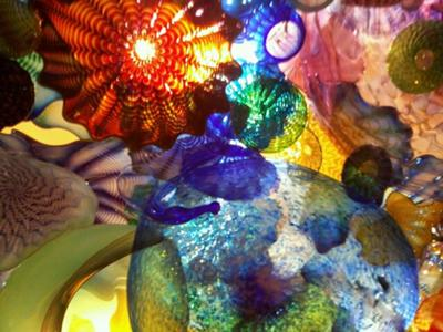Chihuly's artwork on display in Boston, MA