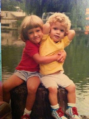 my babies 22 years ago