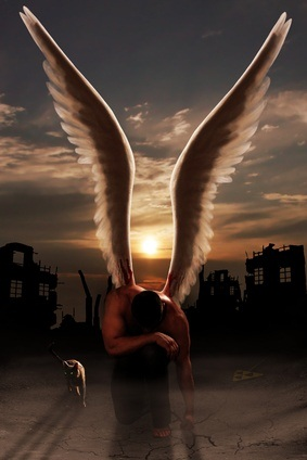wounded warrior angel